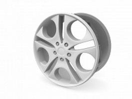 BMW wheel rim 3d preview