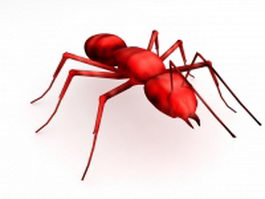 Tropical fire ant 3d preview