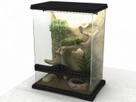 Exo Terra Terrarium 3d preview