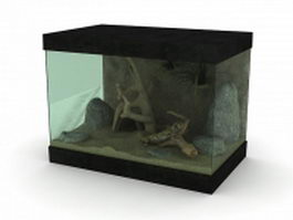 Reptile Terrarium 3d preview