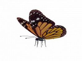Viceroy butterfly 3d preview