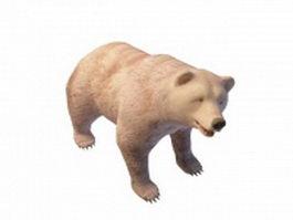 Brown bear 3d preview