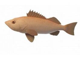 Rougheye rockfish 3d preview