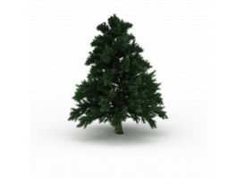 Leyland cypress tree 3d model preview