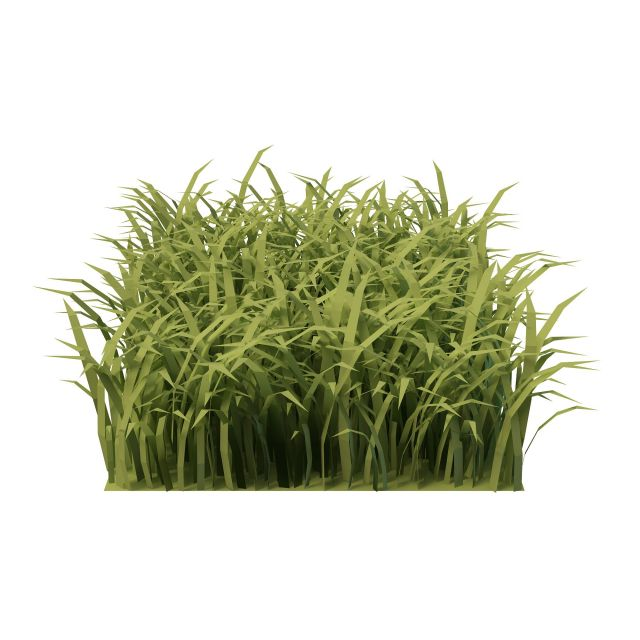 Piece of grass 3d model 3ds max files free download ...