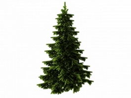 Artificial Christmas tree 3d preview