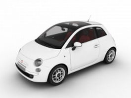 Fiat 500 Supermini 3d preview