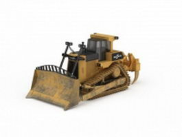 Track bulldozer 3d preview