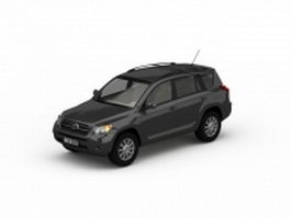 Toyota Sequoia SUV 3d model preview