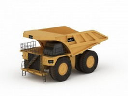 Heavy haul truck 3d preview