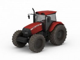 Agriculture tractor 3d preview