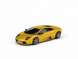 Lamborghini murcielago roadster 3d model preview