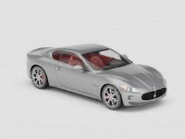 Maserati Alfieri concept 3d preview
