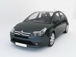 Citroen C4 hatchback 3d preview