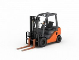 Toyota electric forklift 3d preview