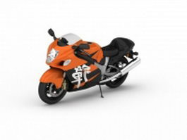 Japanese sports bike 3d preview