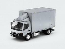 Mitsubishi box truck 3d preview