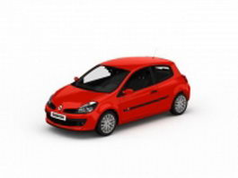 Renault Clio 3d preview