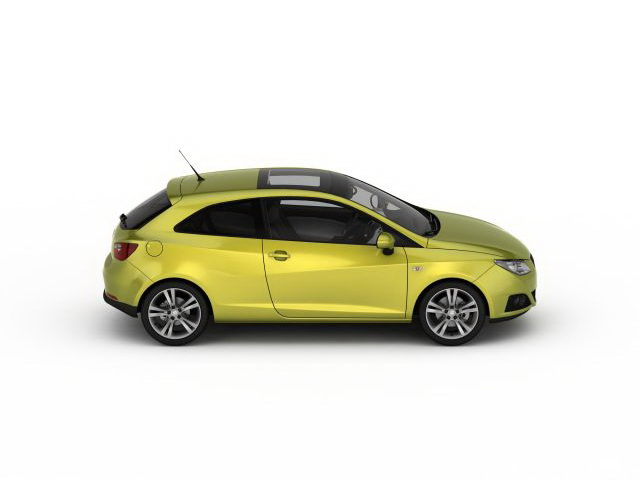 Zaawansowane SEAT Ibiza 3d model 3ds max files free download - modeling 30276 NE63