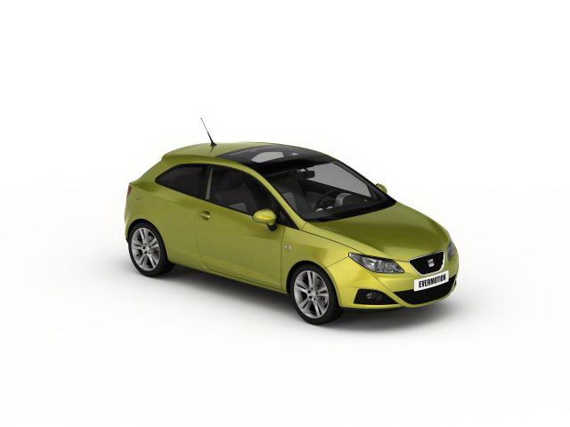 Inteligentny SEAT Ibiza 3d model 3ds max files free download - modeling 30276 LE79