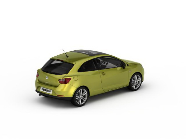 Groovy SEAT Ibiza 3d model 3ds max files free download - modeling 30276 PY62