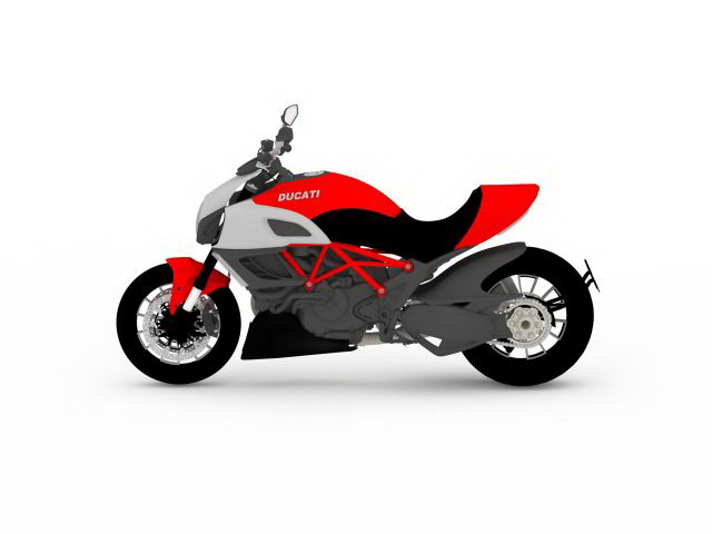 Ducati Desmosedici RR 3d rendering
