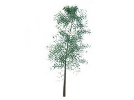 Small tree 3d model preview
