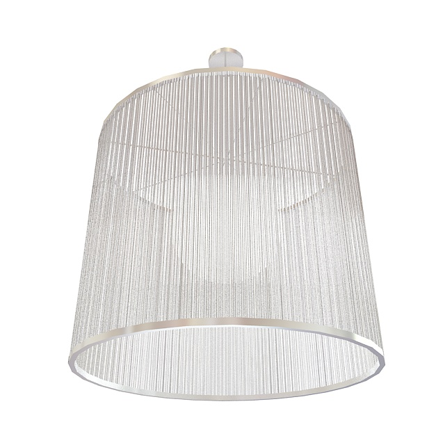 Crystal pendant light 3d preview