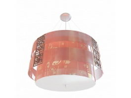 Chinese pendant lighting 3d preview