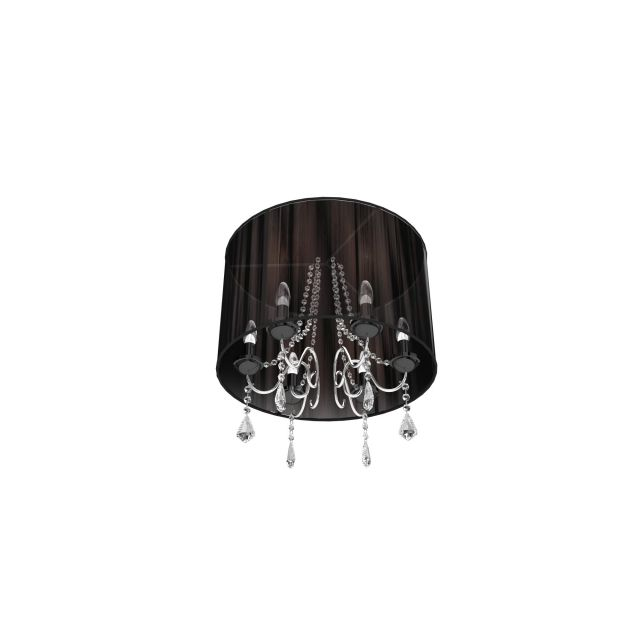 Pendant light with drop 3d rendering