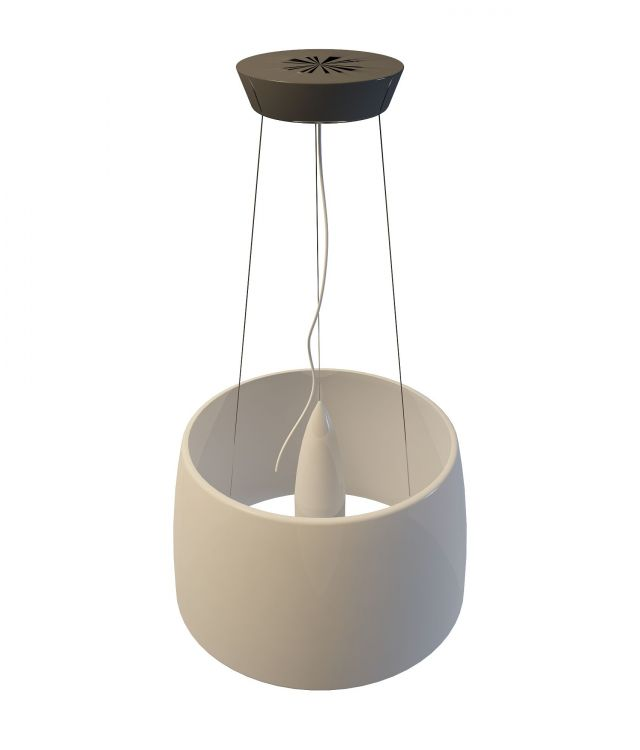 Drum pendant light 3d rendering