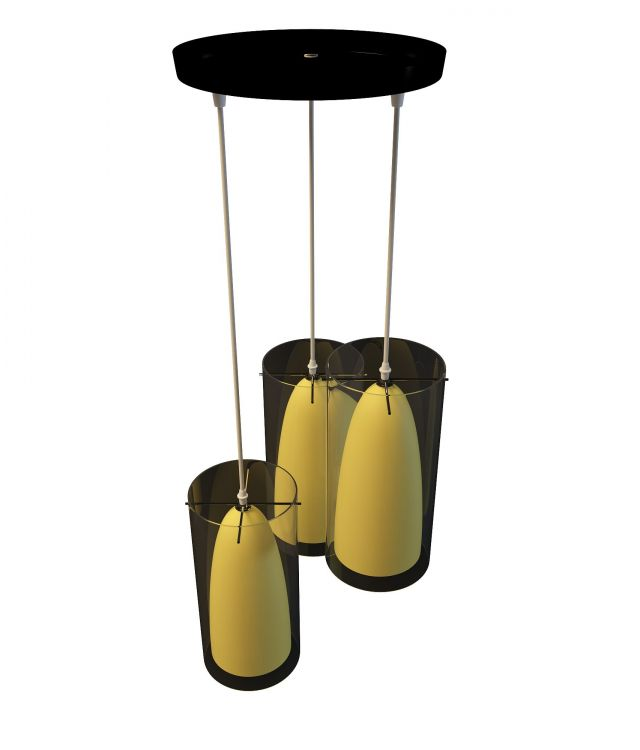 3 Light hanging light 3d rendering