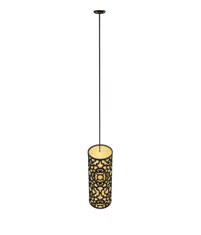 Vintage hanging lamp 3d rendering