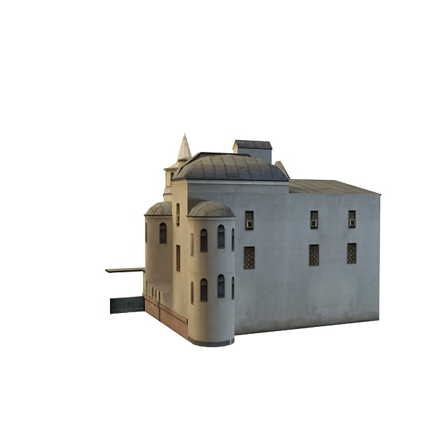 Moscow building 3d rendering