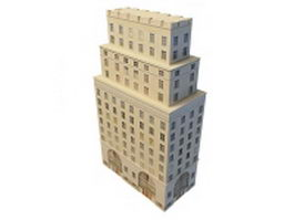 Tower skyscraper 3d preview