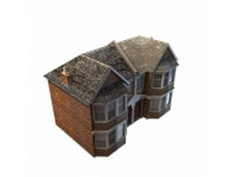 Vintage country house 3d preview