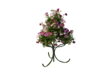 Flower planter stand 3d preview