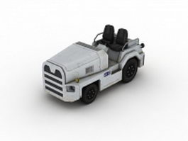TUG aircraft tow tractor 3d preview