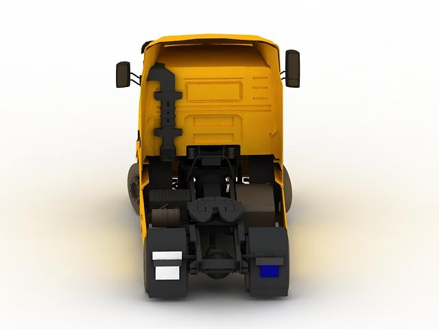 Volvo FH16 heavy truck 3d rendering