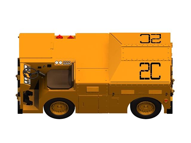 Heavy Flight Deck Tractor 3d Model 3ds Max Files Free