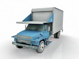 Airport catering truck 3d preview