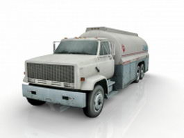 Airport fuel truck 3d preview