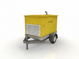 Generator trailer 3d preview