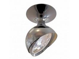Ceiling mount LED spotlight 3d preview