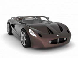 Lotus Elise roadster 3d preview