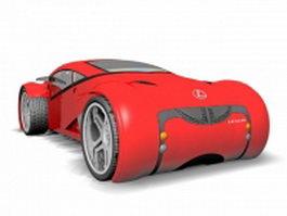 Lexus concept car 3d preview