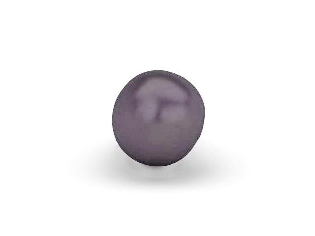Aubergine eggplant 3d rendering