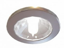LED downlight fixtures 3d preview
