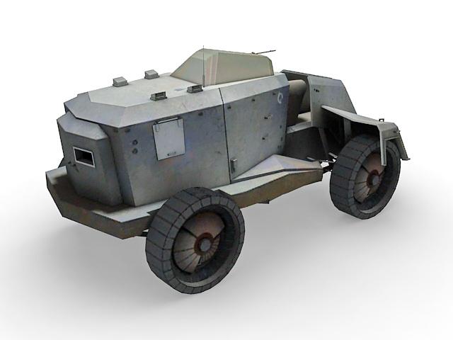 Combine APC concept 3d rendering