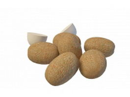 Kiwifruit Chinese gooseberry 3d preview